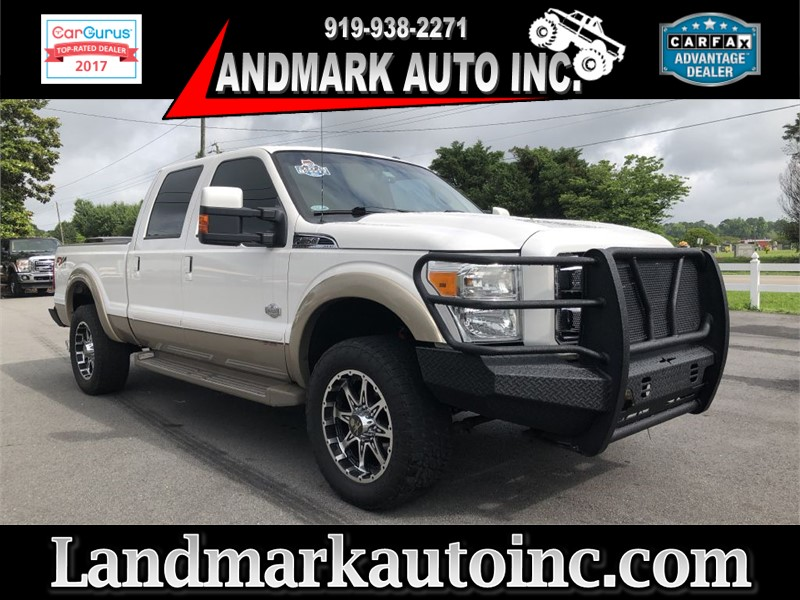 2013 FORD F250 LARIAT KING RANCH 4WD Smithfield NC