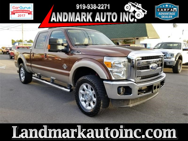 2012 FORD F250 LARIAT CREWCAB 4WD for sale by dealer