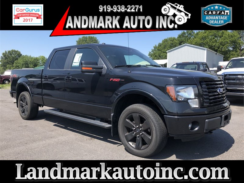 2012 FORD F150 SUPERCREW CREWCAB 4WD for sale by dealer