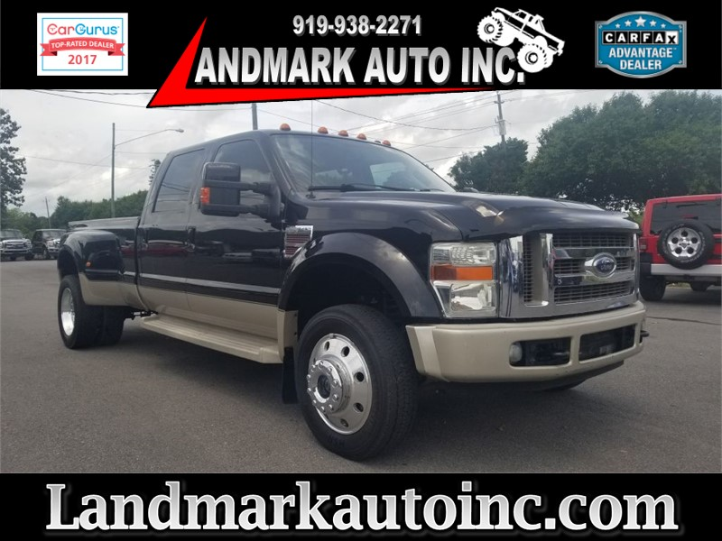 2008 FORD F450 KING RANCH CREWCAB DRW 4WD Smithfield NC