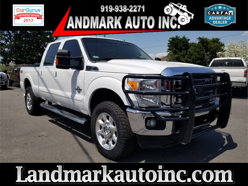 2012 FORD F350 LARIAT SUPER DUTY CREWCAB SRW 4WD for sale by dealer
