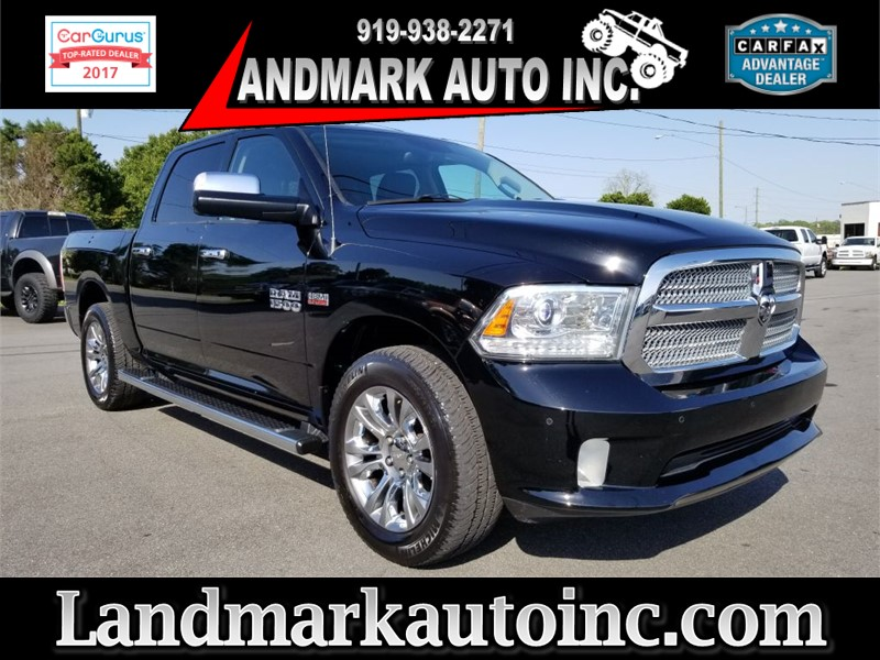 2014 RAM 1500 LARAMIE LIMITED LONGHORN CREWCAB 4WD for sale by dealer
