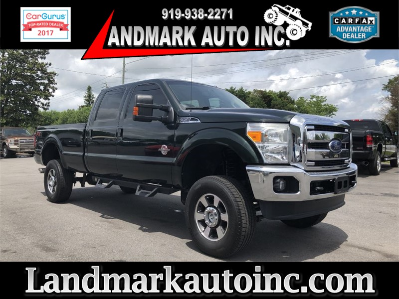 2013 FORD F350 LARIAT SUPER DUTY CREWCAB 4WD for sale by dealer