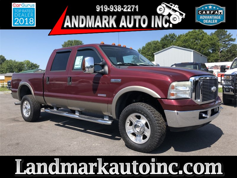 2007 FORD F350 LARIAT CREWCAB 4WD for sale by dealer
