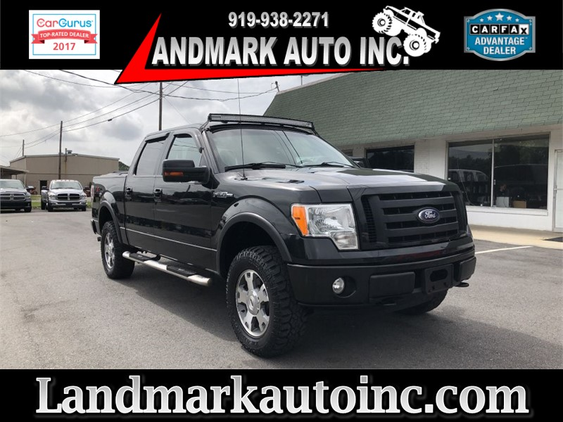 2010 FORD F150 FX4 CREWCAB 4WD for sale by dealer