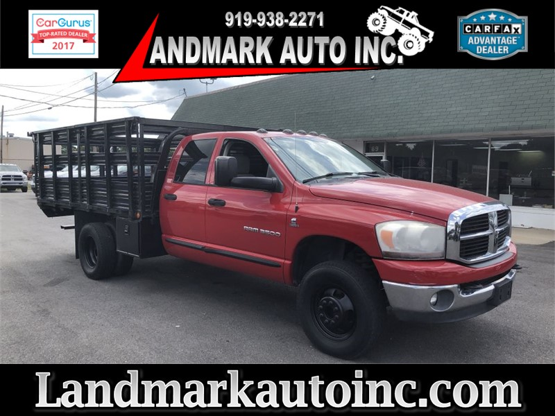 2006 DODGE RAM 3500 ST CREWCAB DRW 4WD for sale by dealer