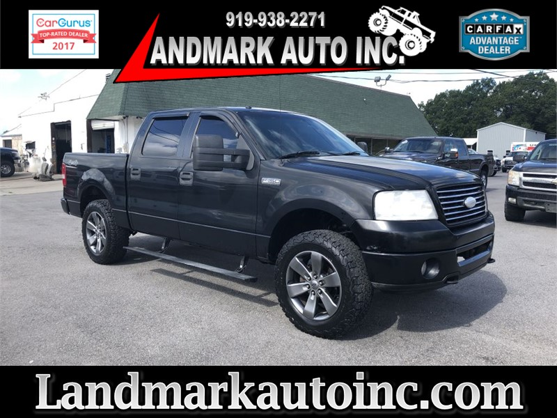 2006 FORD F150 XLT TRITON SUPERCREW 4WD for sale by dealer