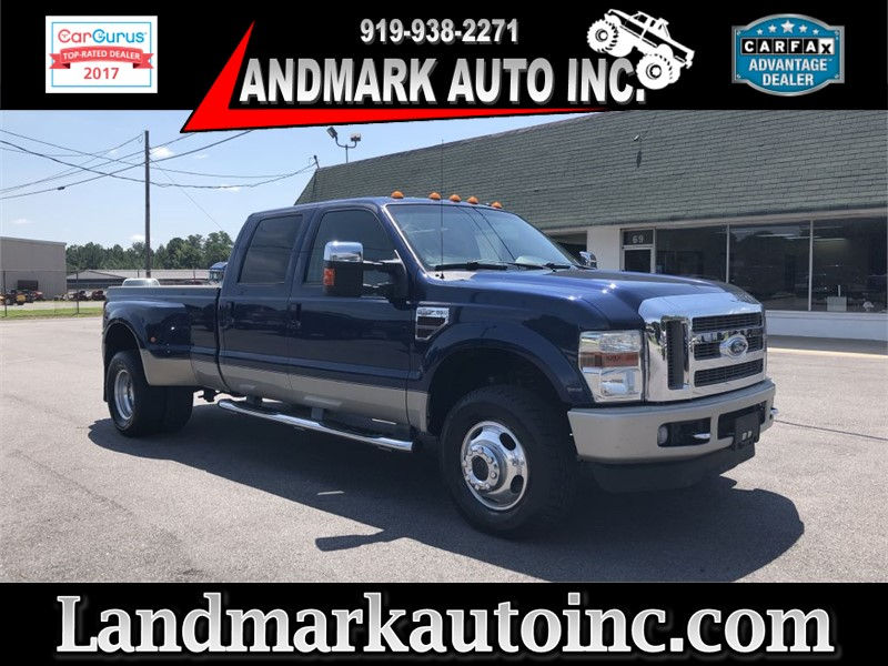 2008 FORD F350 KING RANCH CREWCAB DRW 4WD for sale by dealer