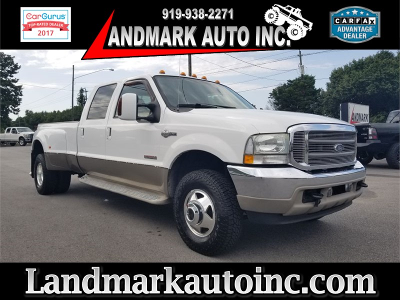2004 FORD F350 KING RANCH LARIAT CREWCAB DRW 4WD for sale by dealer