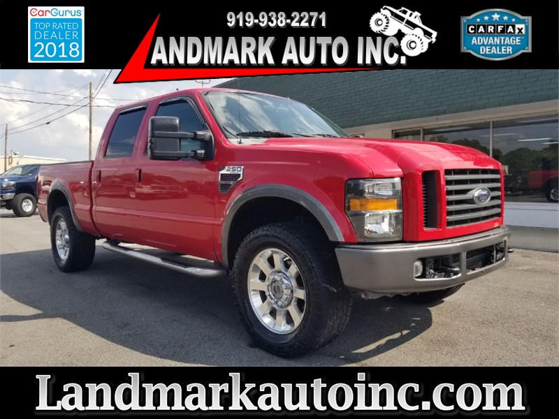 2008 FORD F250 SUPER DUTY FX4 for sale by dealer