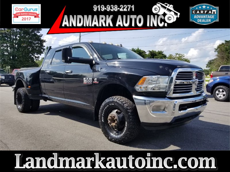 2013 DODGE RAM 3500 LONE STAR CREW CAB 4WD for sale by dealer
