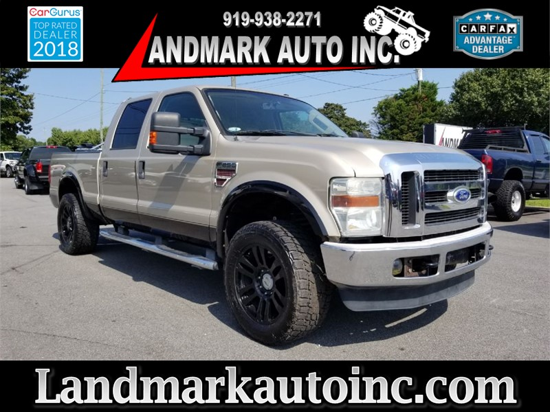 2008 FORD F250 SUPER DUTY SRW for sale by dealer