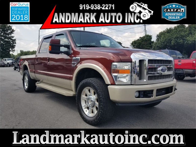 2008 FORD F250 SUPER DUTY KING RANCH for sale by dealer