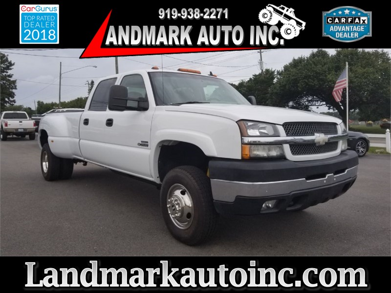 2007 CHEVROLET SILVERADO 3500 CREW CAB DRW LT3 for sale by dealer
