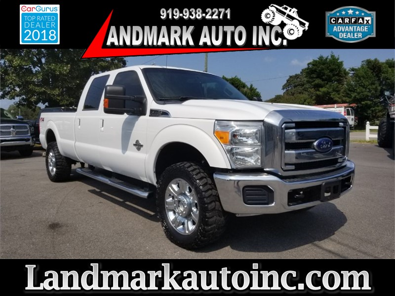 2015 FORD F350 LARIAT CREWCAB SRW 4WD for sale by dealer