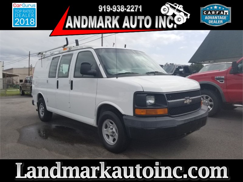 2007 CHEVROLET EXPRESS G1500 WORK VAN for sale by dealer