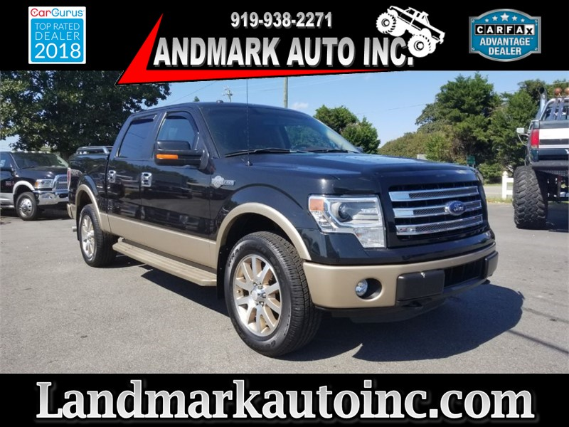 2014 FORD F150 SUPERCREW for sale by dealer