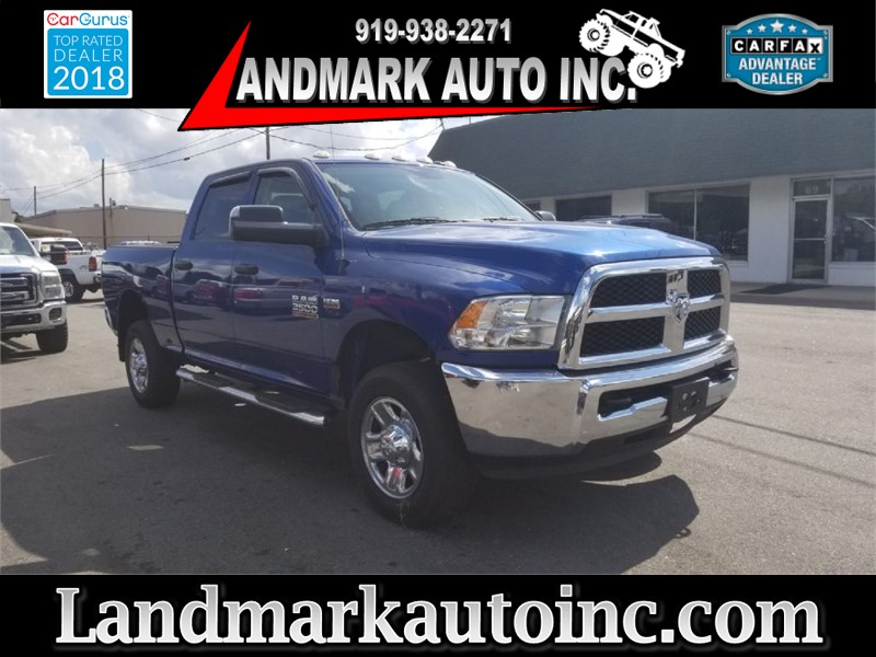 2015 RAM 3500 ST 4WD for sale by dealer