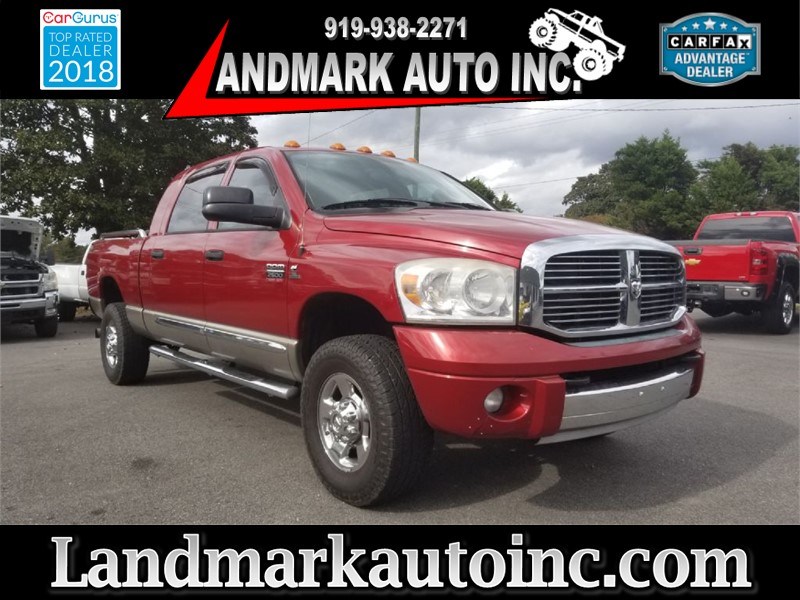2008 DODGE RAM 2500 LARAMIE CUMMINS for sale by dealer