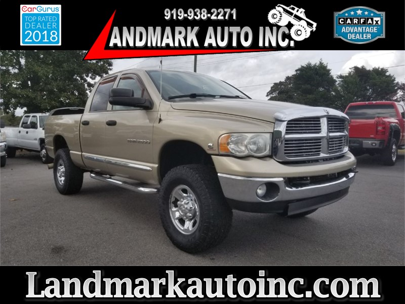2005 DODGE RAM 2500 LARAMIE for sale by dealer
