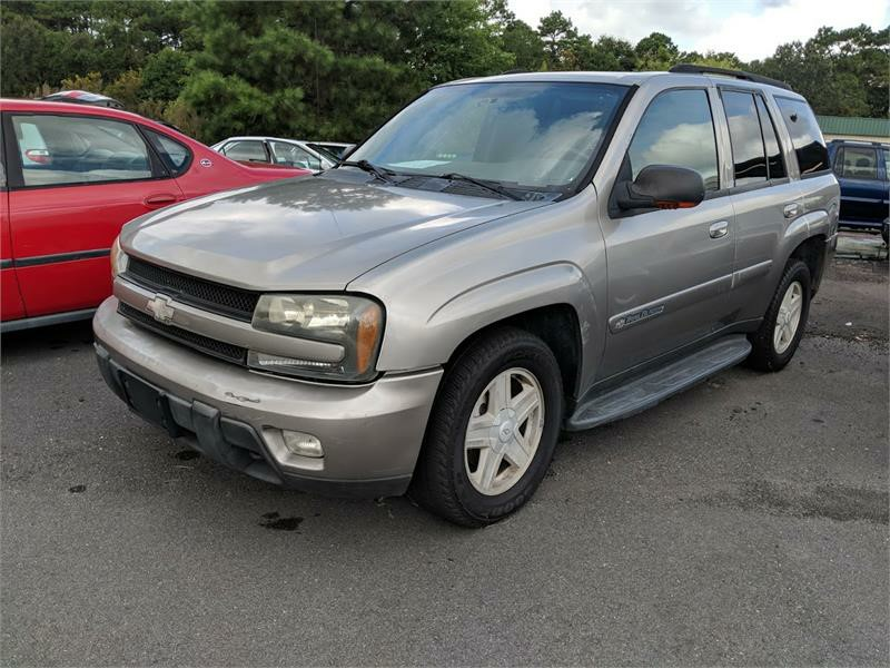 2002 CHEVROLET TRAILBLAZER for sale by dealer