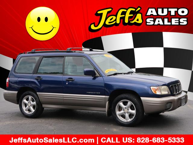 2002 Subaru Forester S for sale by dealer