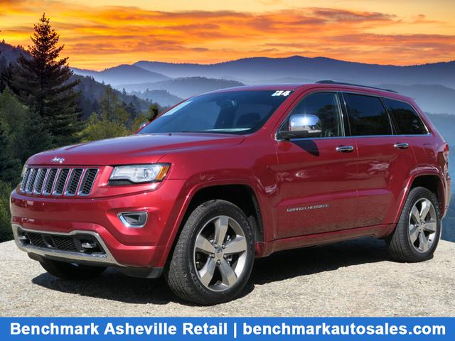This 2014 Grand Cherokee 4X4 Overland Has 60305 Miles. Itu0027s A Red Jeep With  A Black Interior. The Transmission Is 8 Speed Shiftable Automat.