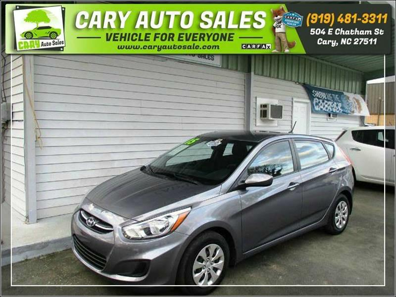 2015 HYUNDAI ACCENT GS for sale by dealer