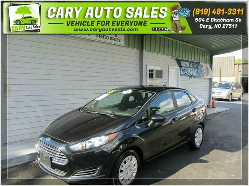 2015 FORD FIESTA S for sale by dealer