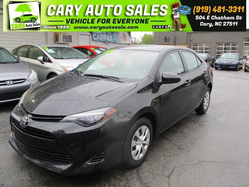 2017 TOYOTA COROLLA L for sale by dealer