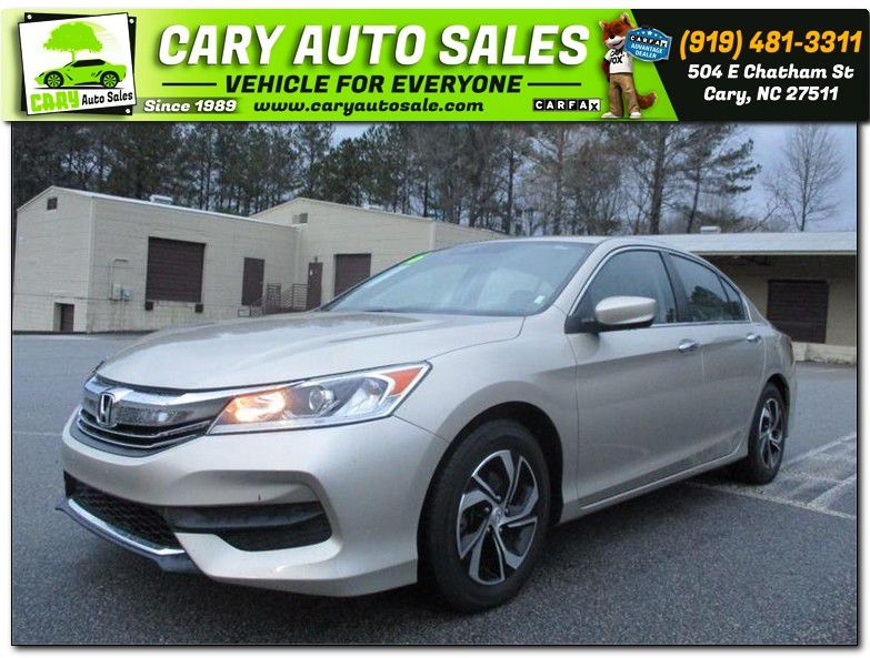 2016 HONDA ACCORD for sale by dealer