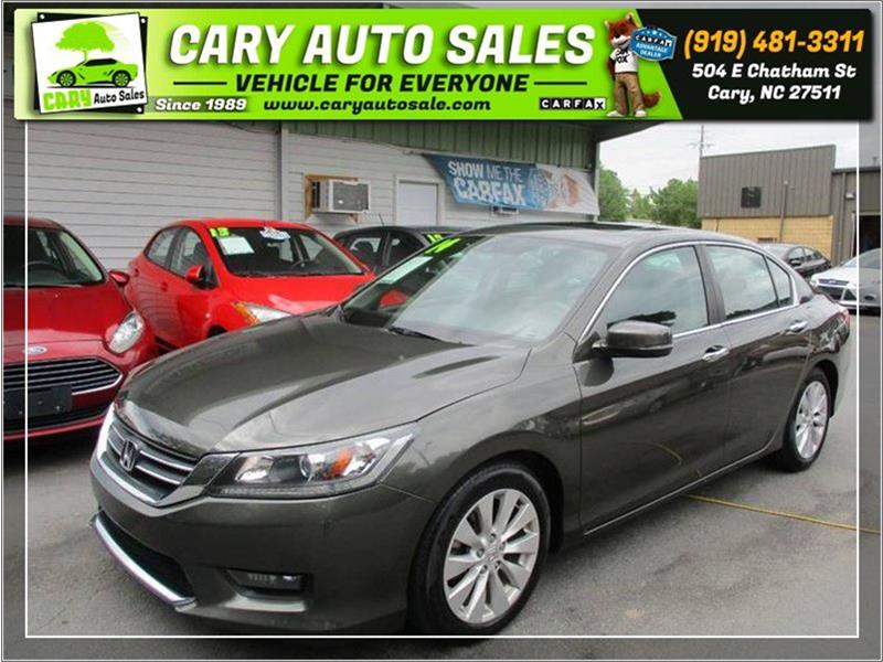 2014 HONDA ACCORD EXL for sale by dealer