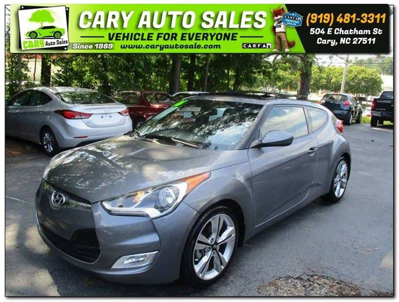 2016 HYUNDAI VELOSTER for sale by dealer