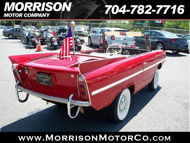 1967 Amphicar Amphicar Used Car For Sale In Concord Nc By