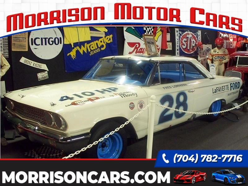 1963 Ford Galaxie Race Car for sale in Concord