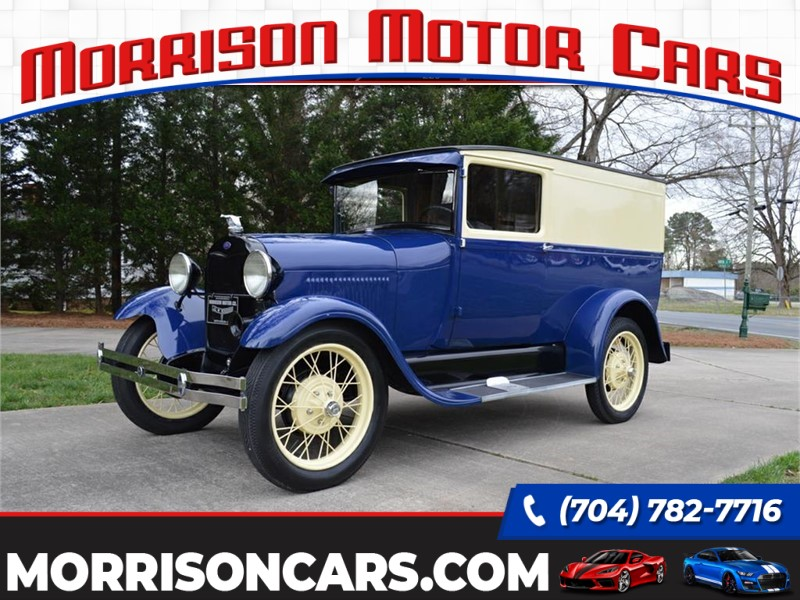 1928 Ford Model A Panel Delivery for sale by dealer