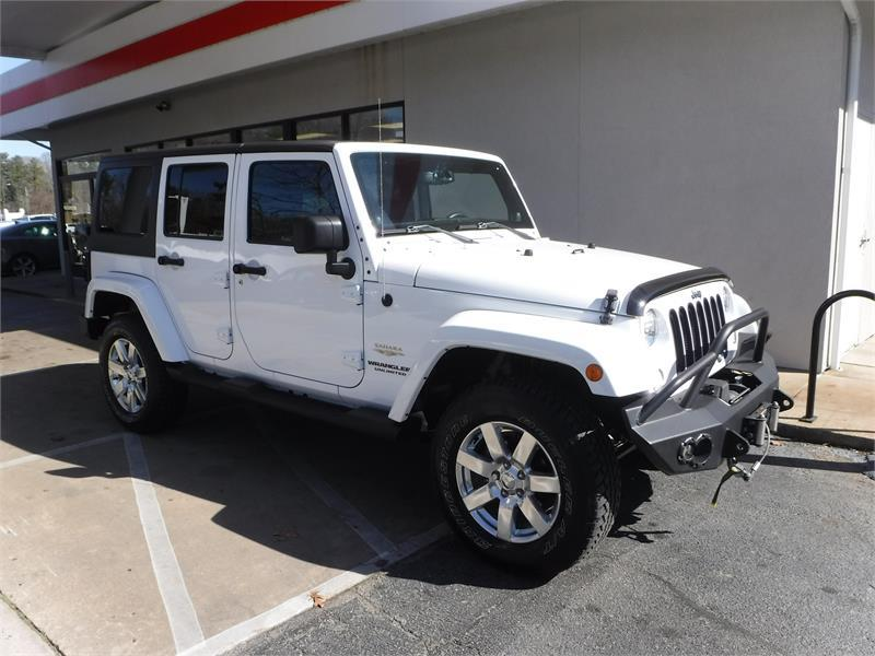 2014 JEEP WRANGLER UNLIMITED SAHARA for sale by dealer