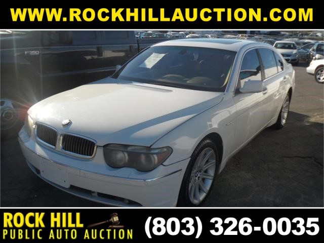 2002 BMW 745LI for sale by dealer