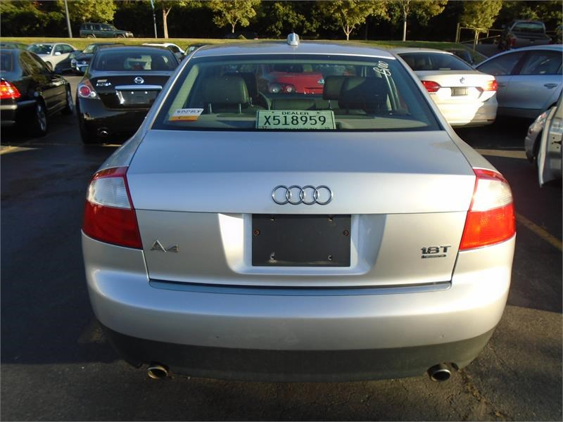 2004 audi a4 1 8t quattro awd for sale in rock hill. Black Bedroom Furniture Sets. Home Design Ideas