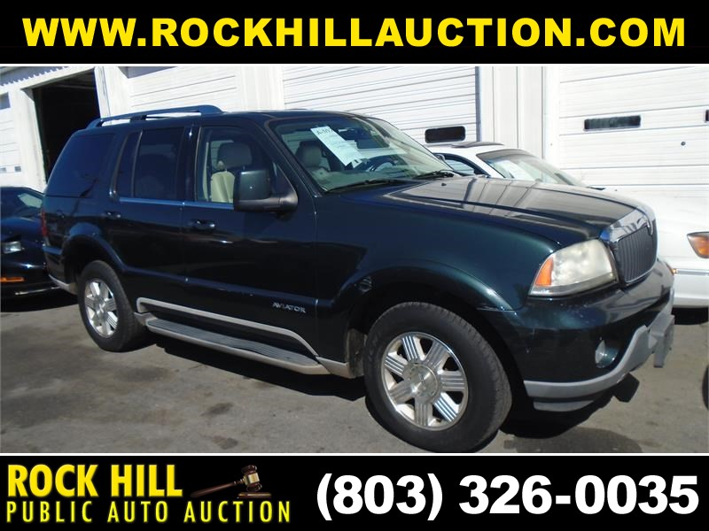 2003 LINCOLN AVIATOR for sale by dealer