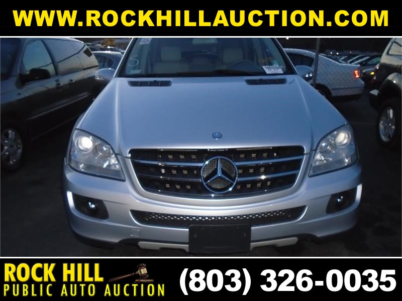 2007 MERCEDES-BENZ ML350 for sale by dealer