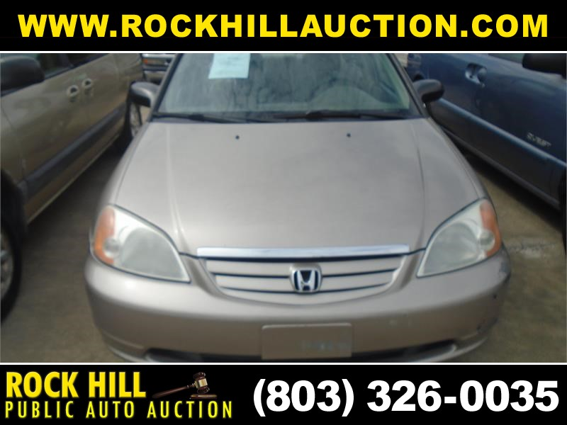 2001 HONDA CIVIC LX for sale by dealer