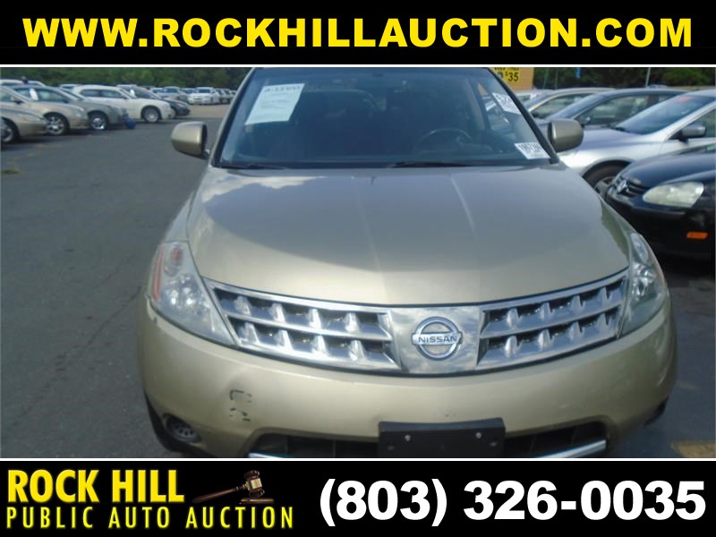 2007 NISSAN MURANO SE/SL/S for sale by dealer