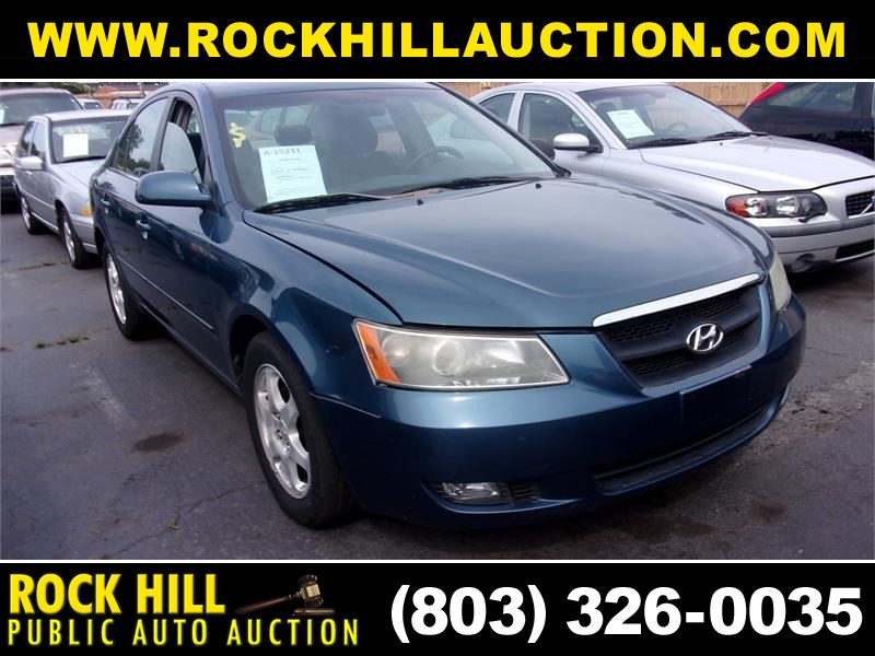 2006 HYUNDAI SONATA GLS/LX for sale by dealer