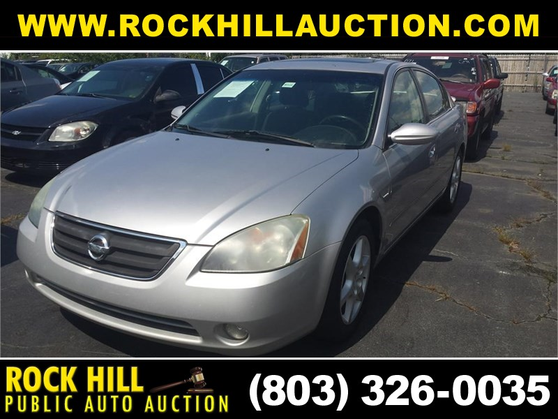 2002 NISSAN ALTIMA SE for sale by dealer