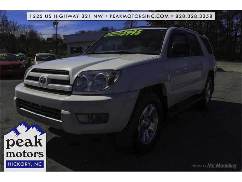 2004 TOYOTA 4RUNNER SR5 for sale!