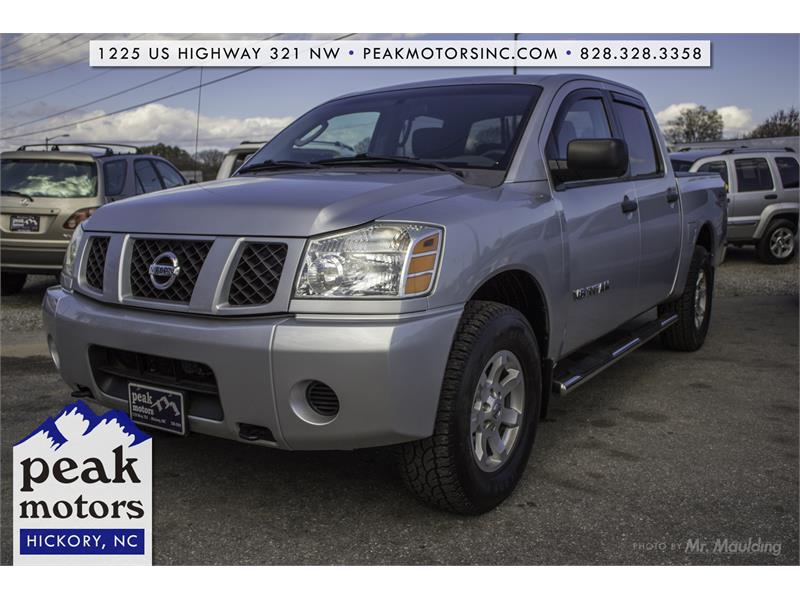 2006 nissan titan le for sale in hickory. Black Bedroom Furniture Sets. Home Design Ideas