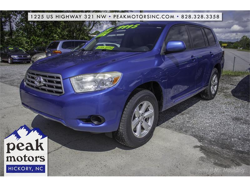 2008 Toyota Highlander for sale by dealer