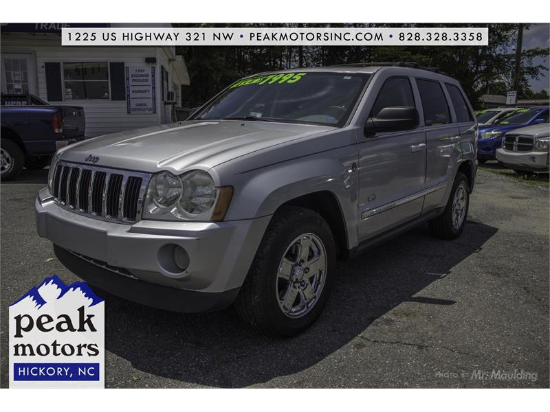 2005 Jeep Grand Cherokee Limited 4WD for sale!