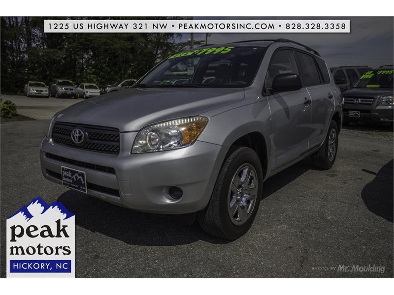 2007 Toyota RAV4 Base I4 4WD for sale in Hickory
